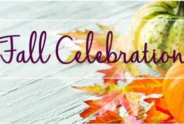 Date Set for Our 2018 Fall Celebration
